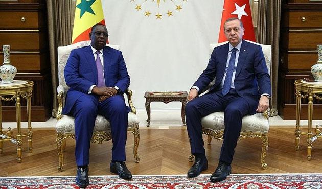 Erdoğan, Senegalli mevkidaşıyla görüştü