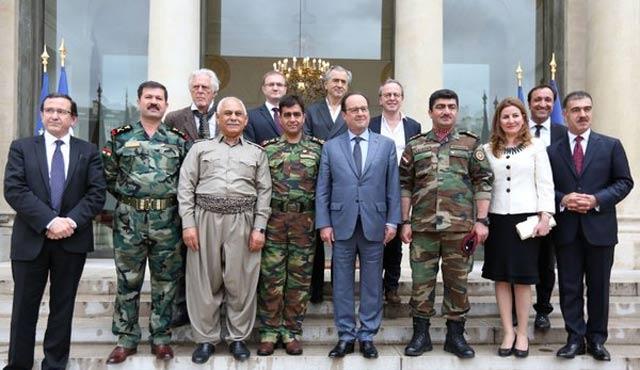 Fransa'dan Erbil'e yardım sözü