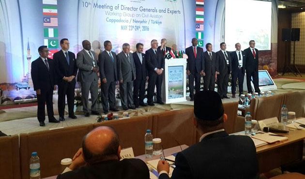D-8 ülkeleri sivil havacılık için toplandı