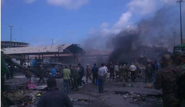 Suriye'de çifte patlama: 92 ölü