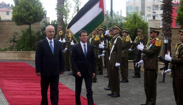 Fransa Başbakanı'ndan, Ramallah'ta İsrail açıklaması