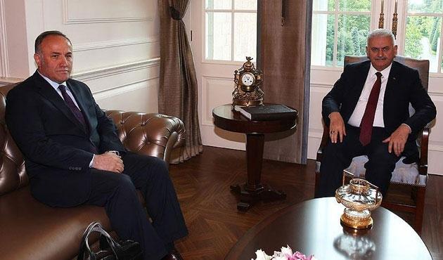 Başbakan Yıldırım ilk kabulünü gerçekleştirdi