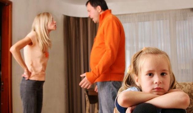 Anne baba çatışmaları ve arada kalan çocuklar