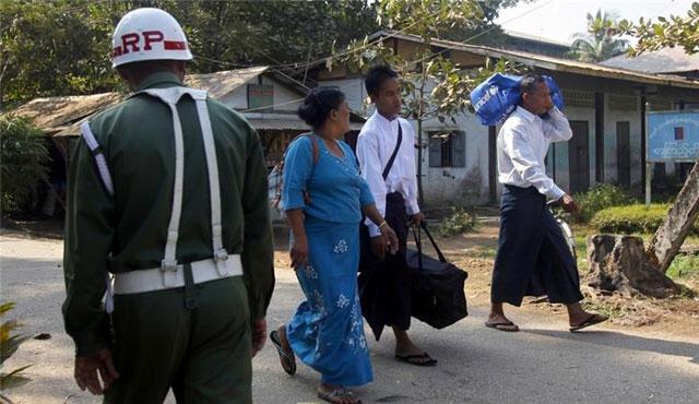 Çin-Myanmar arasında askeri işbirliği