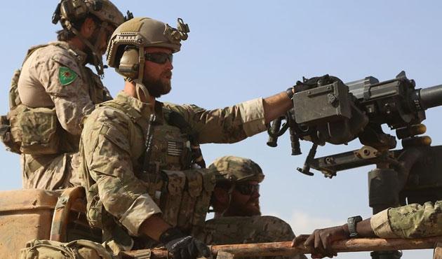 Rakka'da YPG üniformalı ABD askerleri | FOTO