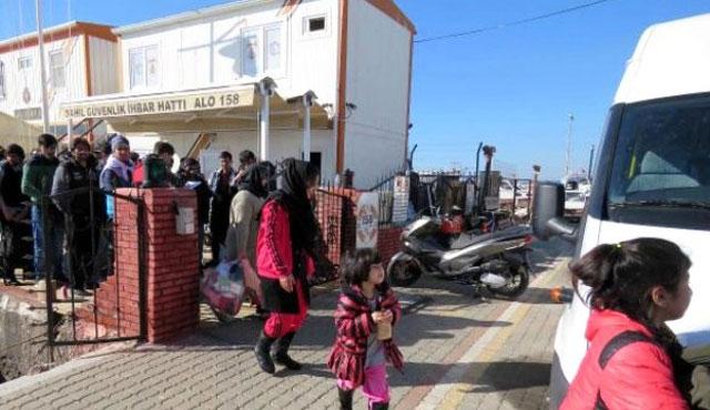 Çanakkale'de yasa dışı 19 göçmen yakalandı