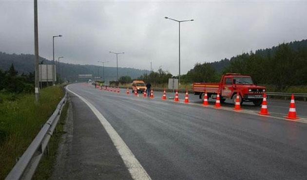Bolu Dağı Tüneli Ankara yönü trafiğe kapatıldı