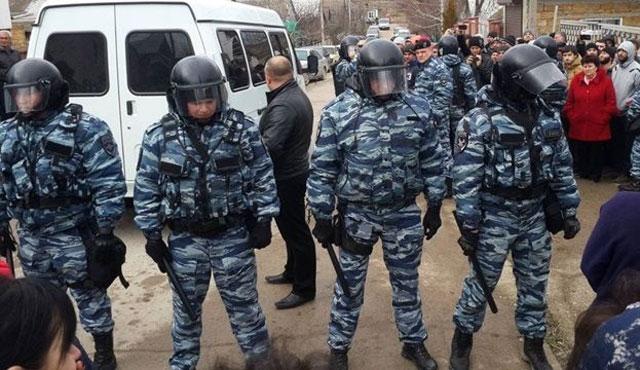 Kırım Tatarlarının evlerine yeni baskınlar