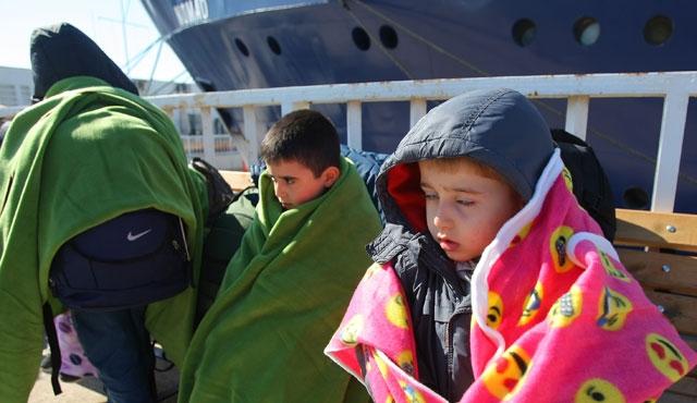 Çeşme ve Bodrum'da mülteci operasyonu