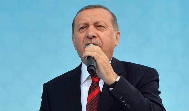 Erdoğan'dan ABD'nin PYD desteğine kınama