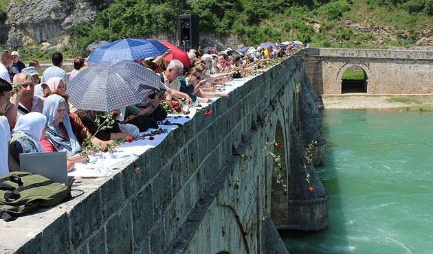 Bosna'da Visegrad kurbanları anıldı