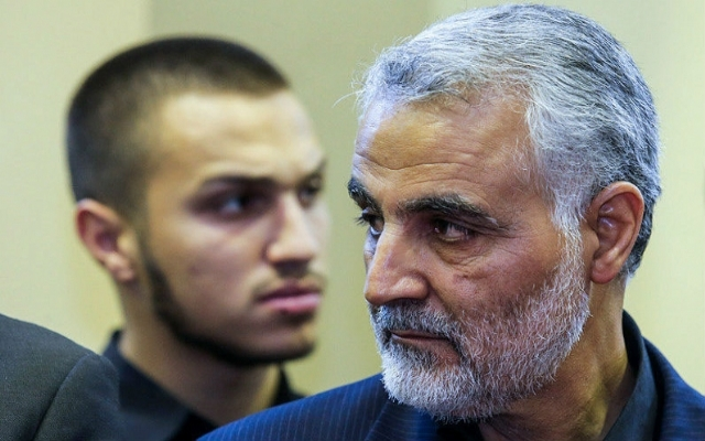 Kasım Süleymani'den Irak itirafı