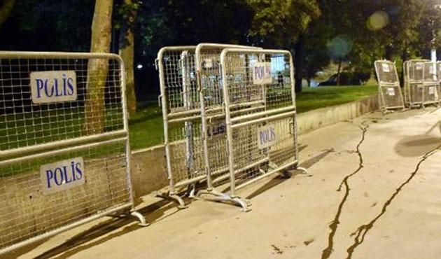 Gezi Parkı'nda güvenlik önlemleri
