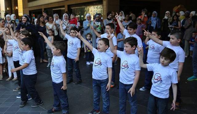 Lübnan'da 'Merhaba Ramazan' konvoyu