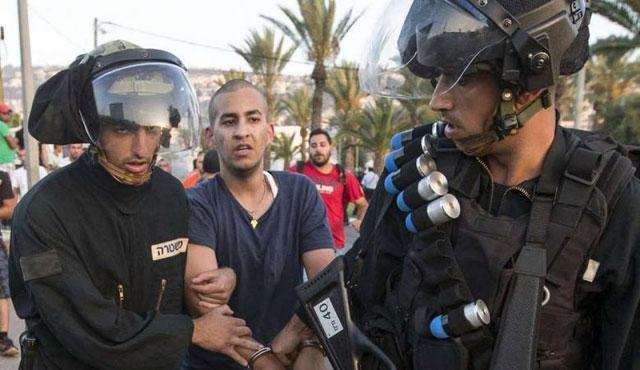 30 Filistinli genç gözaltına alındı
