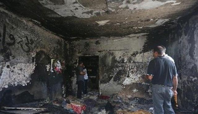 Filistinli aileyi yakan İsrailli serbest