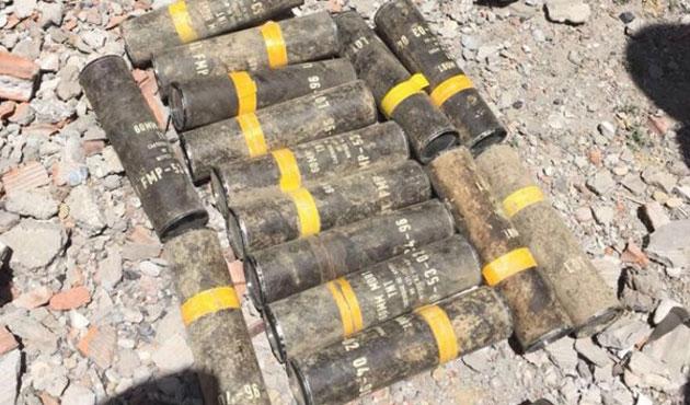 Şırnak'ta şimdi de ABD yapımı havan mermisi