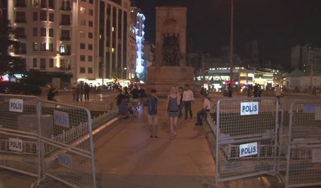 Taksim ve Gezi Parkı gece yarısı açıldı