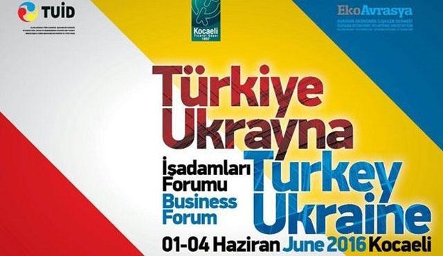 'Türkiye-Ukrayna İşadamları Forumu' başladı