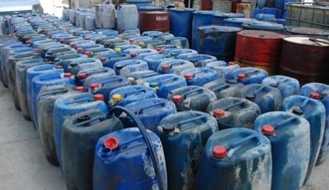 Diyarbakır'da 10 ton kaçak ham petrol ele geçirildi