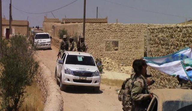 Rakka'dan sonra Fırat'ın batısına da operasyon başladı