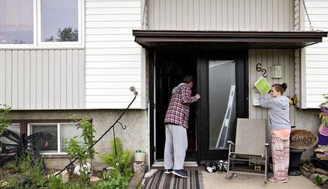 Kanada'daki yangın bir aydır söndürülemedi