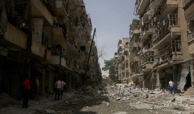 BM Halep'te hastane saldırılarını kınadı