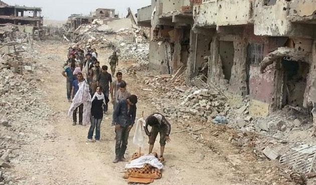 PKK'lılar teslim olmadan önce silahları gömmüş