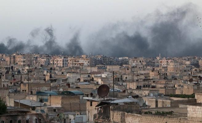 Halep'e hava saldırısı: 18 ölü, 50 yaralı