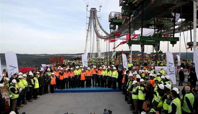 3. Köprü işçilerinin ikramiyesi ödendi
