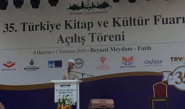 '35. Türkiye Kitap ve Kültür Fuarı' açıldı