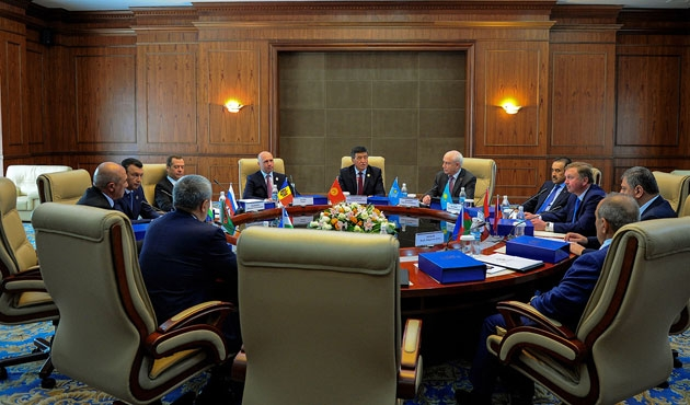 BDT başbakanları Bişkek'te toplandı