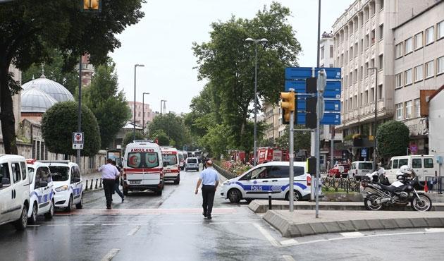 İstanbul Beyazıt'ta bombalı saldırı