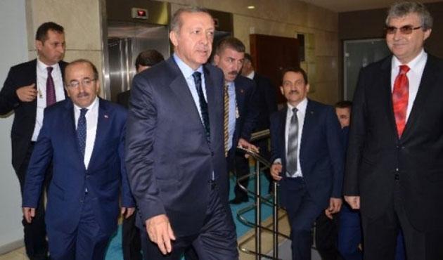 Erdoğan'dan yaralılara ziyaret