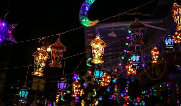 Gazze'de Ramazan, fanuslarla güzel | FOTO