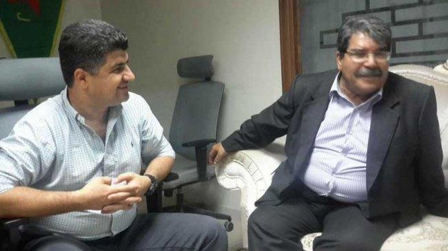 PYD'ye bir destek de Yeğen Talabani'den