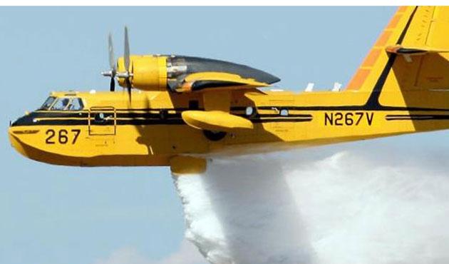 Orman yangınlarında Rus pilotlara görev yok