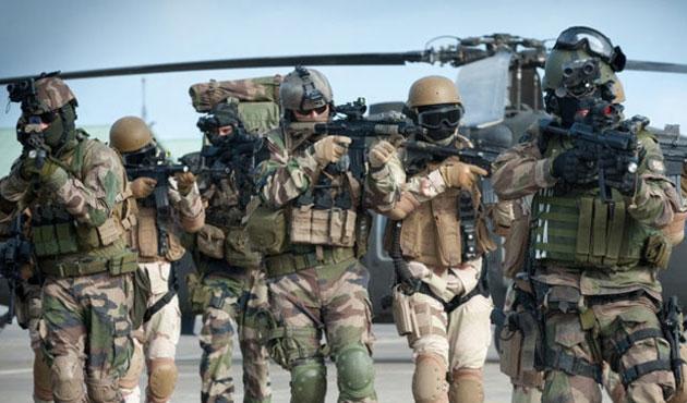 Fransa özel kuvvetleri de Suriye'de