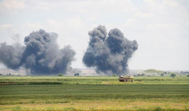 IŞİD hedeflerine 11 yeni hava saldırısı