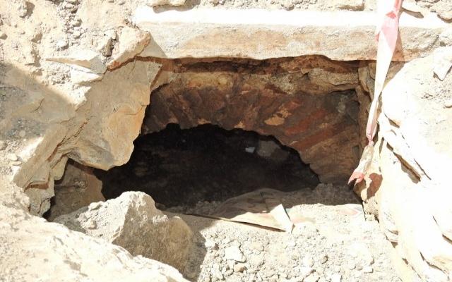 İzmir'de tarihi su kemeri bulundu