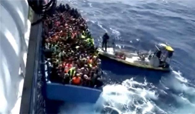 Libya güçlerinden sığınmacılara şiddet