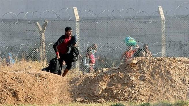 Suriye sınırında 70 Iraklı yakalandı