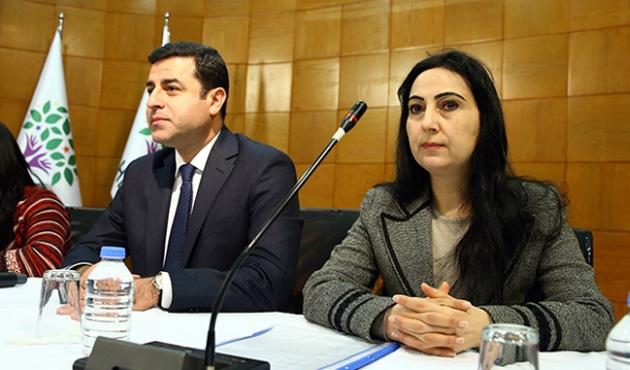 Demirtaş ve Yüksekdağ'a tutuklama talebi