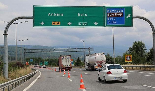 Bolu Dağı geçişi ulaşıma açıldı
