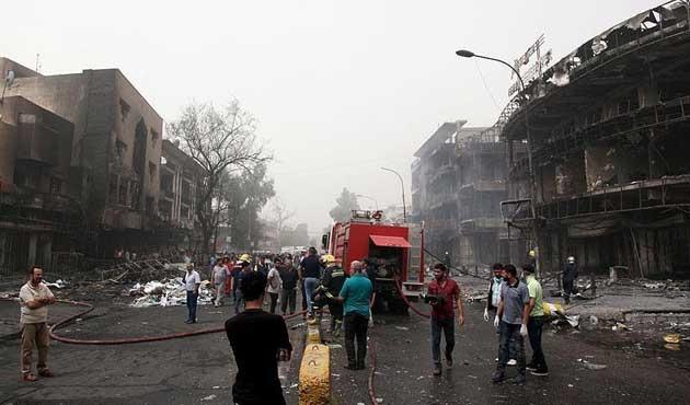 Bağdat'taki saldırıda ölü sayısı 151