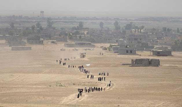 Irak'ta 160 bin aile geri döndü