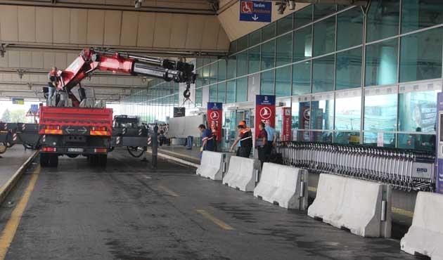 Havalimanında yeni bir güvenlik önlemi