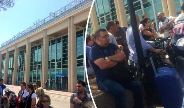Marsilya'da havalimanı boşaltıldı