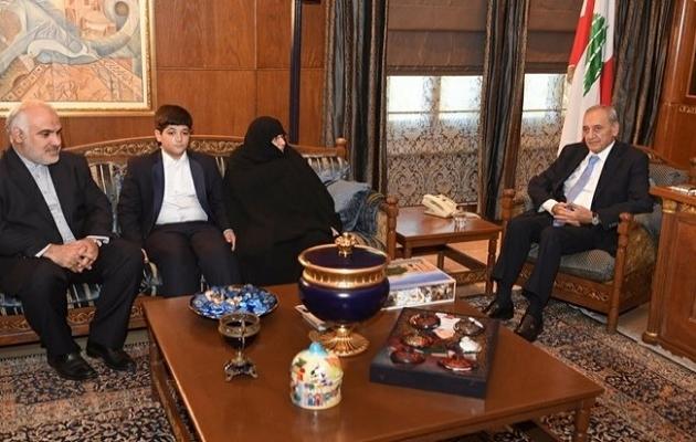 Kaçırılan İranlı diplomatların aileleri Lübnan'da