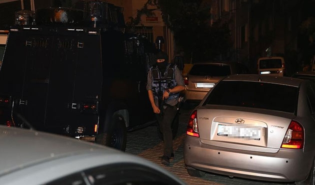 Kağıthane'de beş YDG-H gözaltısı